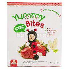 Yummy Bites Kerupuk Bayi Rasa Stroberi