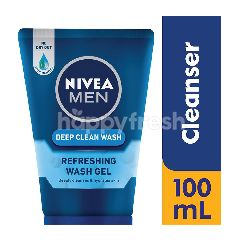 Nivea Men Deep Clean Refreshing Fresh Wash Gel
