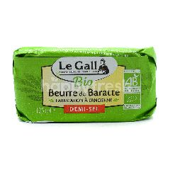 Le Gall Churned Butter Pastureised With Guerande Salt