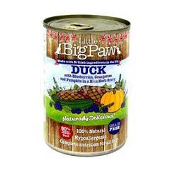 Little Big Paw Duck - Blue Berries Courgette Pumpkin 390g