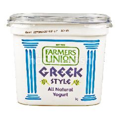 Farmers Union Greek Style Natural Yogurt 1KG
