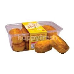 Sinar Custard Muffin Banana (8 Pieces)