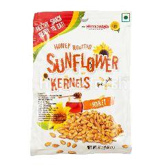 Flower Food Kuaci Biji Bunga Matahari Panggang Rasa Madu