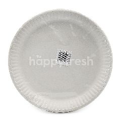 Muster Traders 6 Inch White Paper Plate 20 Pieces