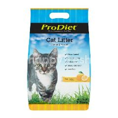 PRODIET Cat Litter Clumping Formula Fresh Lemon Fragrance