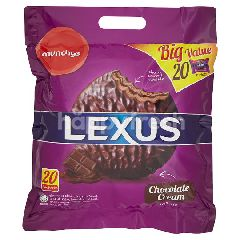 Munchy's Lexus Chocolate Cream Cookies (20 Sachets)