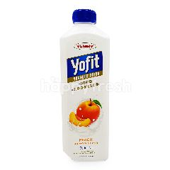 Yummy Yofit Yogurt Probiotik Rasa Persik