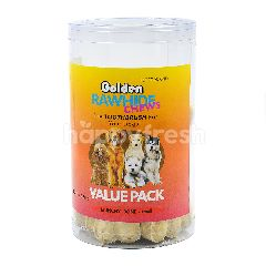 Golden Golden Rawhide Chews ( Large )