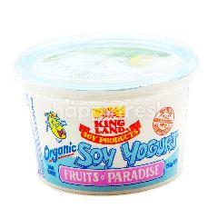 KING LAND Organic Soy Yogurt Fruits O' Paradise