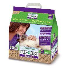แคท เบส Cat's Best แคท เบส แคท เบส ทรายแมวเปลือกไม้สน แบบแท่ง 10 ลิตร