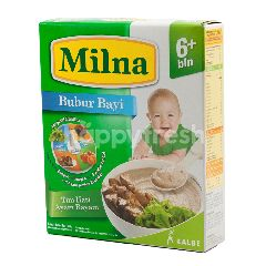 Milna Bubur Bayi Rasa Tim Hati Ayam Bayam