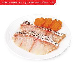 กูร์เมต์ มาร์เก็ต ปลาเก๋า ใหญ่ แล่เนื้อ