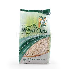 Radiant Whole Food Organic Rolled Oats Wholegrain