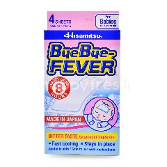 Hisamitsu Bye Bye Fever Patch (4 Sheets)