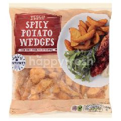 Tesco Spicy Potato Wedges