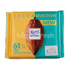 ริทเตอร์สปอร์ต ช็อกโกแลต โกโก้ ซีเล็คชั่น 61 เปอร์เซ็นต์