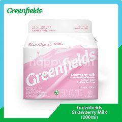 Greenfields Susu Pasteurisasi Rasa Stroberi