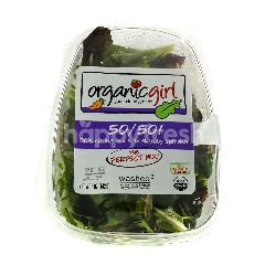 Organic Girl 50/50 Spring Mix dan 50% Bayam Muda