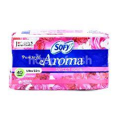 Sofy Pure Style Aroma Sweet Rose Ultra Slim