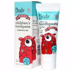 Buds Pasta Gigi Fluoride Organik - Strawberry