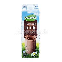 Greenfields Susu Pasteurisasi Rasa Cokelat Malt