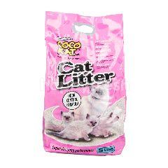 โคโค่ แค็ท โคโค่แค็ท ทรายอนามัยสำหรับแมว สูตรควบคุมกลิ่น