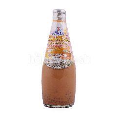 V Fresh Minuman Teh Thailand dengan Biji Selasih