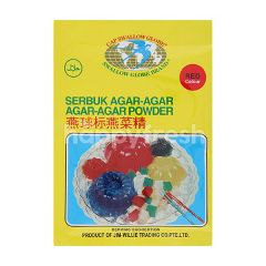 Swallow Globe Brand Agar Agar Powder (Red Colour)