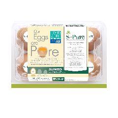 เอส-เพียว ไข่ไก่สด ขนาดจัมโบ้ (แพ็ค 6)
