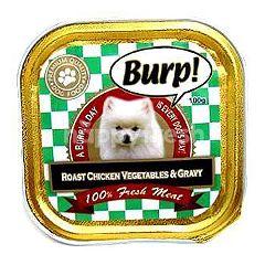 Burp! Roast Chicken Vegetable & Gravy 100g