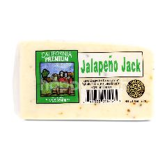California Jalapeno Monterey Jack Cheese Block
