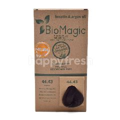 Bio Magic Organic Hair Color Cream Deep Brown Mahogany Gold