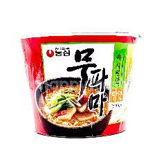 Nongshim Instant Noodle Bowl Carrot And Garlic Spicy