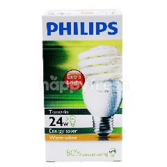 Philips Tornado Bulb Energy Saver Warm White