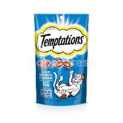 Temptations Cat Treat Adult Savoury Salmon 85G Cat Snack