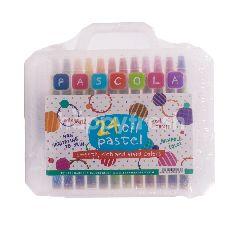 Pascola Krayon Minyak Pastel 24 Warna