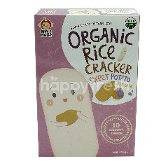 APPLE MONKEY Organic Rice Crackers Sweet Potato Flavour