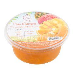ฟรุ๊ตเดย์ เจลลี่ส้มผสมผลไม้รวม 220 กรัม