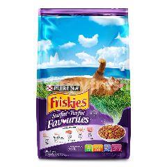 Friskies Makanan Kucing Surfin' & Turfin' Favourites 1.2kg