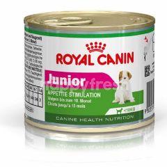 โรยัล คานิน อาหารเนื้อละเอียด สำหรับลูกสุนัขไม่เกิน 1 ปี 195 กรัม