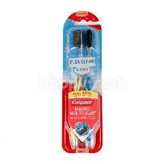 Colgate Macro Molecular Ultra Thin Bristles Toothbrush Twin Pack