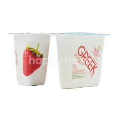 Heavenly Blush Yogurt Greek dengan Potongan Buah Stroberi