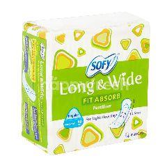 Sofy Long & Wide Fit Absorb Pantiliner (15.5cm)