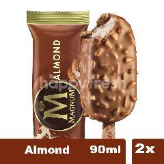 Wall's Magnum Es Krim Rasa Almond 90ml