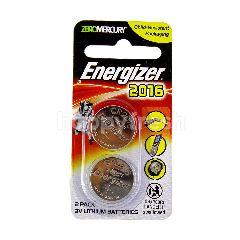 Energizer 2016 2 Pack 3v Lithium Batteries 3v E-CR2016