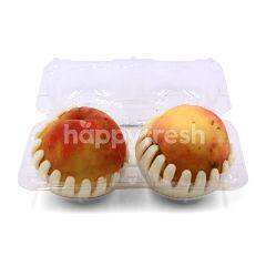 White Peach (2 Pieces)