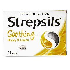 Strepsils Soothing Honey & Lemon