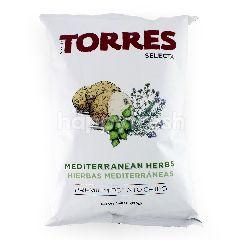 TORRES SELECTA Premium Potato Chips Mediterranean Herbs