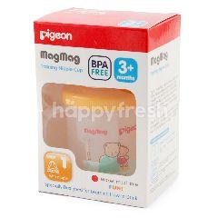 Pigeon Magmag Botol Latihan dengan Dot