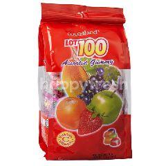 Cocoaland Lot 100 Assorted Gummy